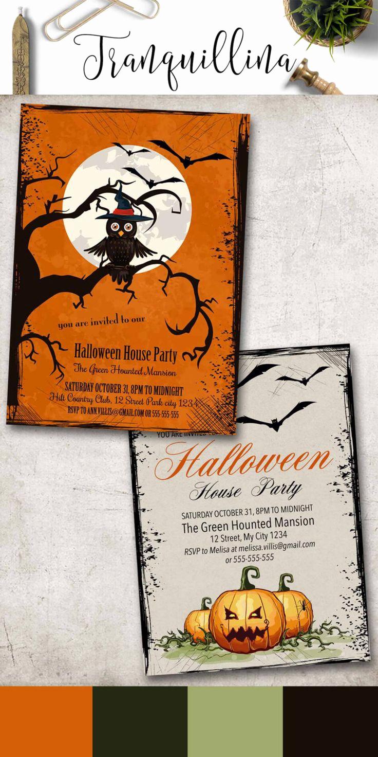 Kid Halloween Party Invitation Inspirational 25 Best Halloween Invitations Kids Ideas On Pinterest