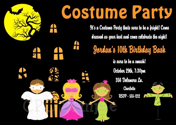 Kid Halloween Party Invitation Inspirational Halloween Party Invitations for Kids Printable or Print