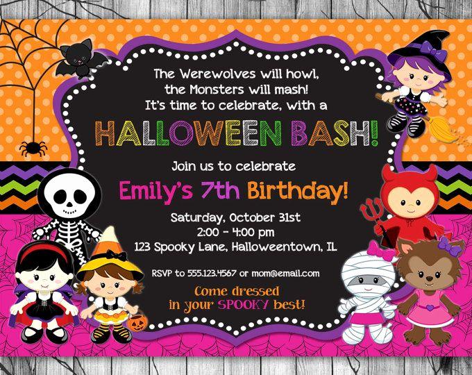 Kid Halloween Party Invitation Lovely Halloween Invitation Kids Printable Halloween Birthday