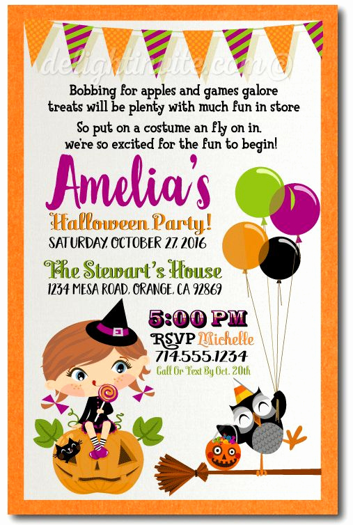 Kid Halloween Party Invitation Luxury Best 25 Halloween Invitations Kids Ideas On Pinterest