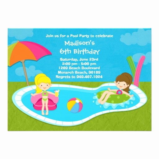 Kid Pool Party Invitation Beautiful 900 Kids Pool Party Invitations Kids Pool Party