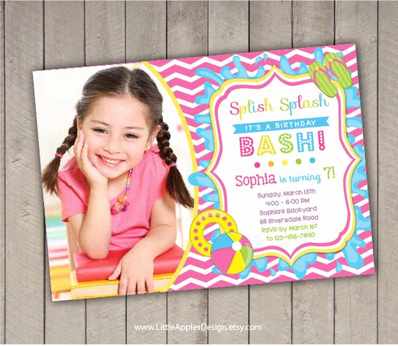 Kid Pool Party Invitation Elegant Pool Invitation Kids Pool Party Invitation Pool Party