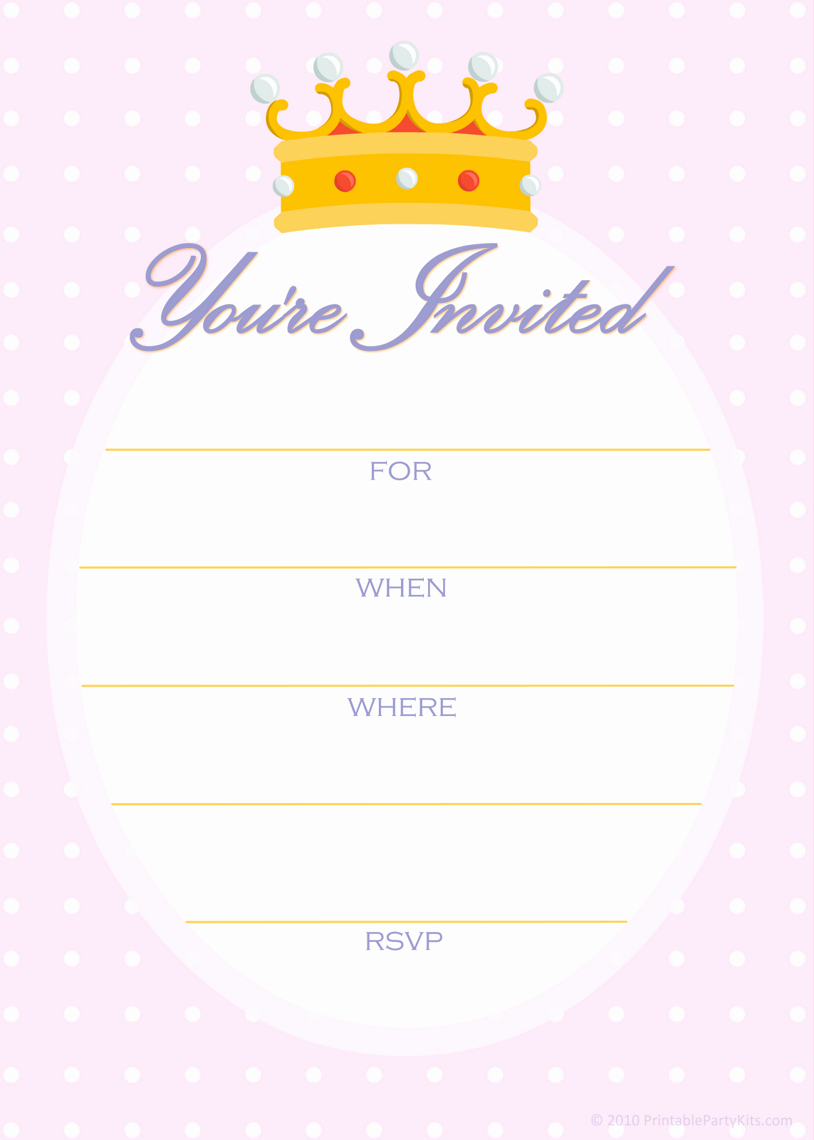 Kids Birthday Party Invitation Template Awesome Free Printable Party Invitations Free Invitations for A