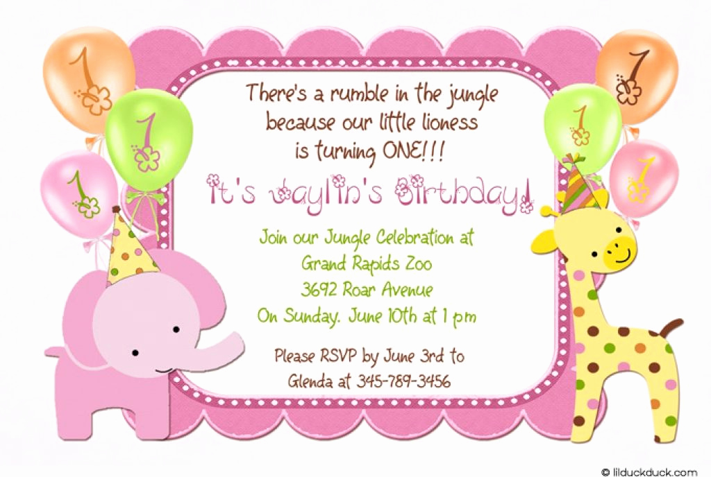 Kids Birthday Party Invitation Template Elegant 21 Kids Birthday Invitation Wording that We Can Make