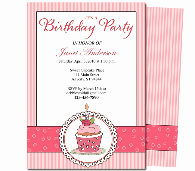 Kids Birthday Party Invitation Template Luxury 23 Best Images About Kids Birthday Party Invitation