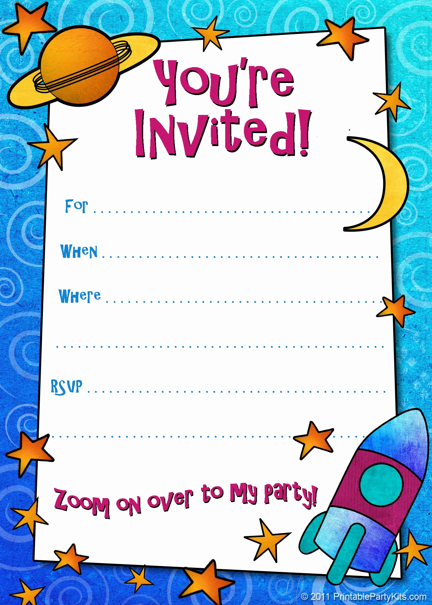 Kids Birthday Party Invitation Template Luxury Free Printable Boys Birthday Party Invitations