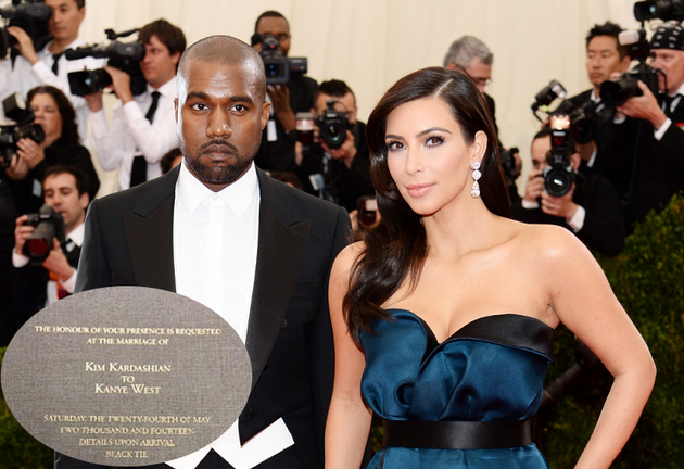 Kim Kardashian Wedding Invitation Awesome Kim Kardashian and Kanye West S Wedding Invitation Revealed