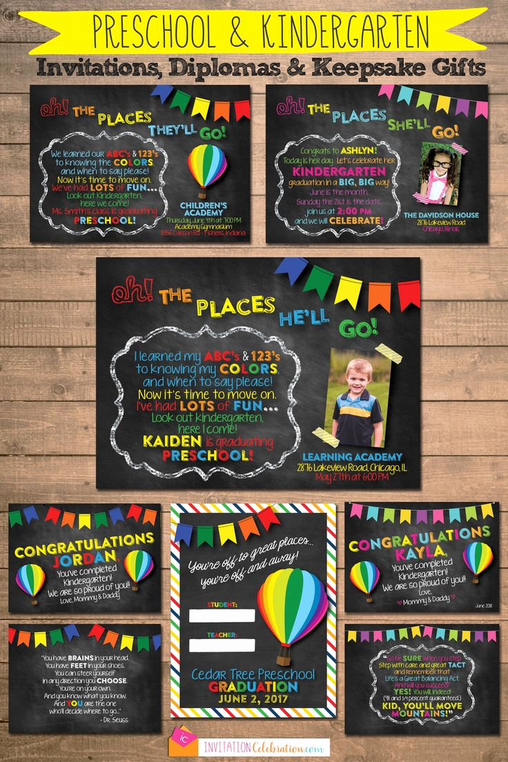 Kindergarten Graduation Invitation Ideas Luxury 17 Best Ideas About Preschool Graduation On Pinterest