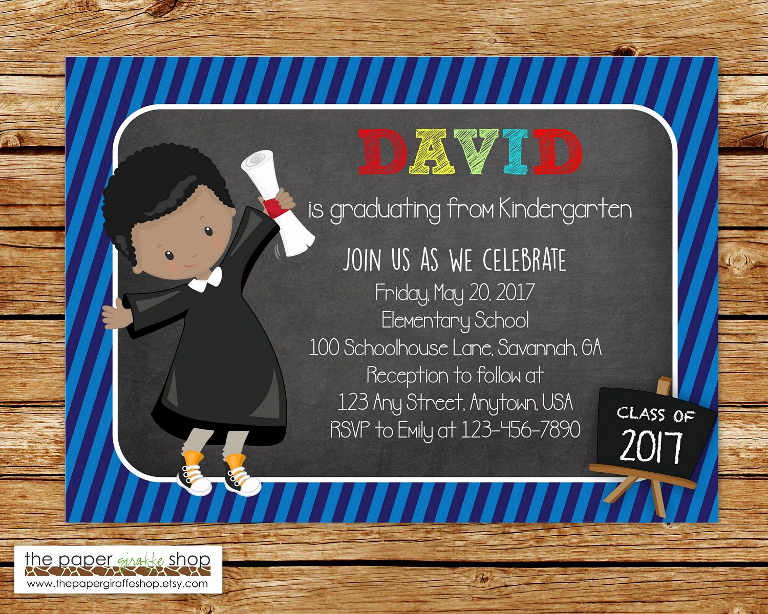 Kindergarten Graduation Invitation Ideas Luxury Kindergarten Graduation Invitation