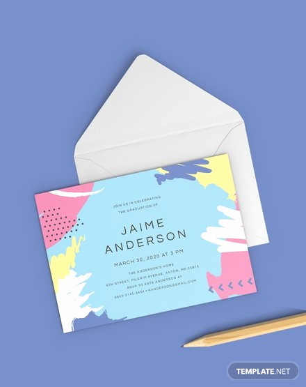 Kindergarten Graduation Invitation Template Luxury Free Preschool Graduation Invitation Template Word
