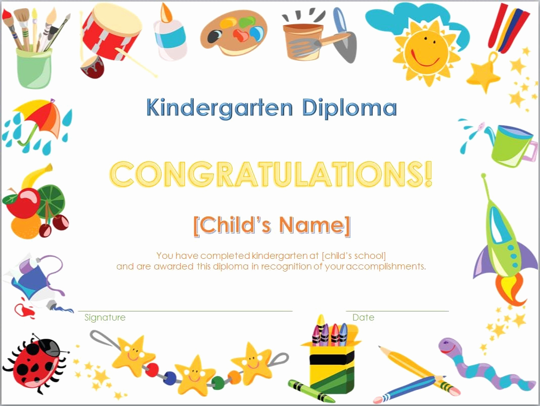 Kindergarten Graduation Invitation Templates Free Awesome Free Kindergarten Graduation Invitation Template