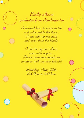 Kindergarten Graduation Invitation Templates Free Elegant Free Printable Graduation Invitations for Kindergarten