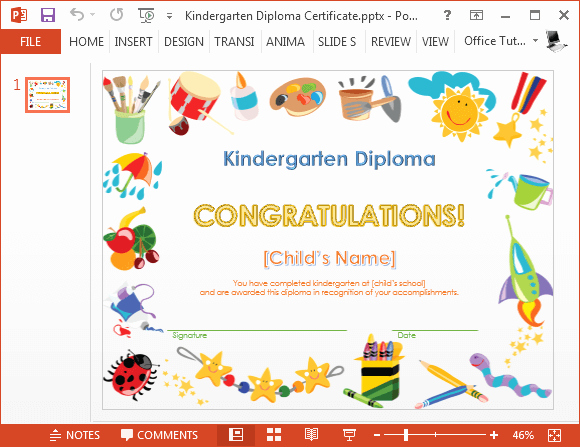 Kindergarten Graduation Invitation Templates Free Unique How to Make A Printable Kindergarten Diploma Certificate