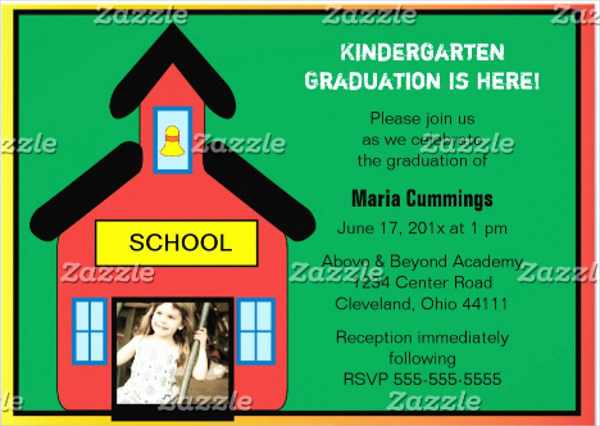 Kindergarten Graduation Invitation Wording Awesome 50 Graduation Invitation Templates Psd Ai Word