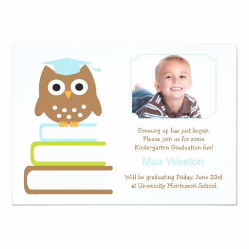 Kindergarten Graduation Invitation Wording Lovely Kindergarten Graduation Invitation