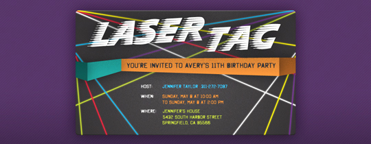 Laser Tag Invitation Template Luxury Sports Leagues Free Online Invitations