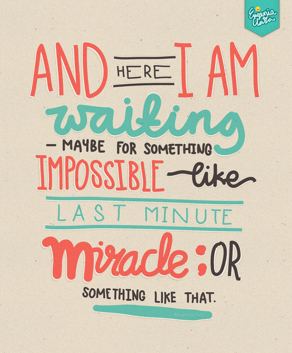 Last Minute Invitation Quotes Awesome Miracle Quotes Tumblr Image Quotes at Hippoquotes
