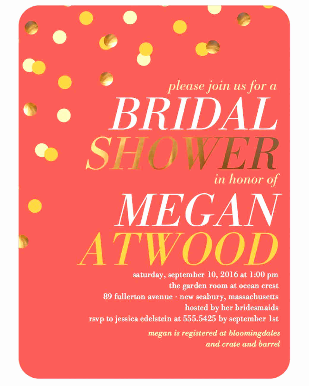 Last Minute Invitation Quotes Luxury How to Host A Last Minute Bridal Shower