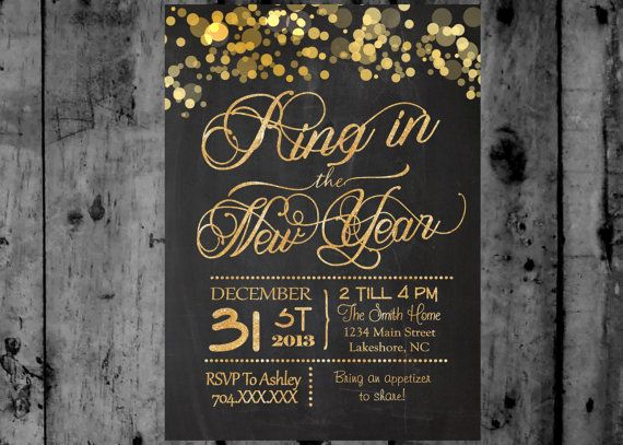 Last Minute Invitation Quotes Unique New Years Eve Party Printable Invitation