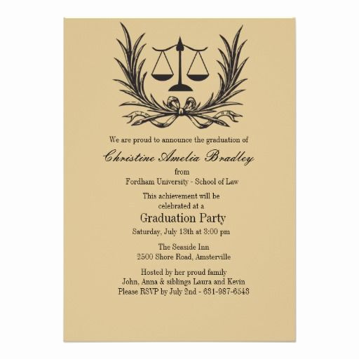 Law School Graduation Invitation Wording Awesome Best 25 Graduation Invitation Wording Ideas On Pinterest