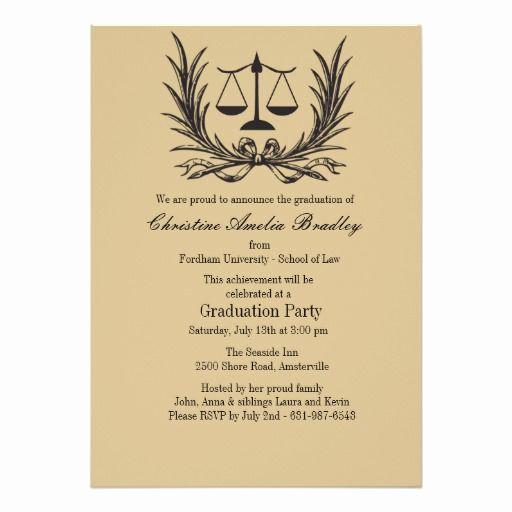 Law School Graduation Invitation Wording Awesome Best 25 Graduation Invitation Wording Ideas On Pinterest