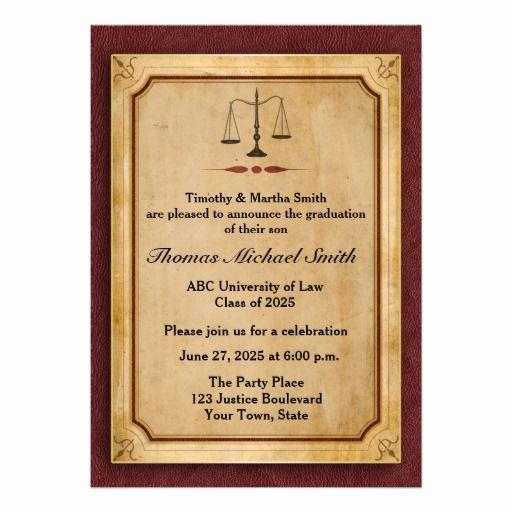 Law School Graduation Invitation Wording Best Of Best 60 the End Of Lawschool Fun Ideas On Pinterest