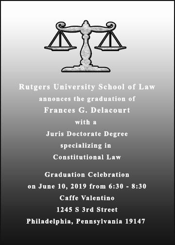 Law School Graduation Invitation Wording Fresh Law School Announcements for Graduation Item Ulaw2112