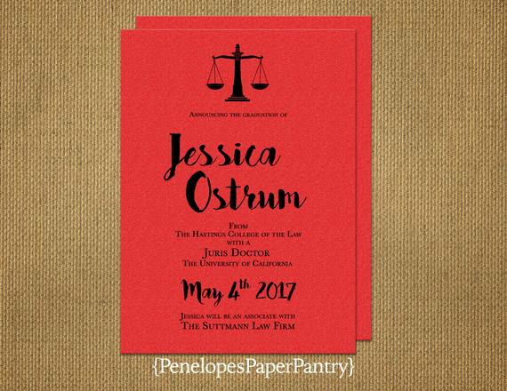 Law School Graduation Invitation Wording Inspirational Elegant Law School Graduation Invitation and