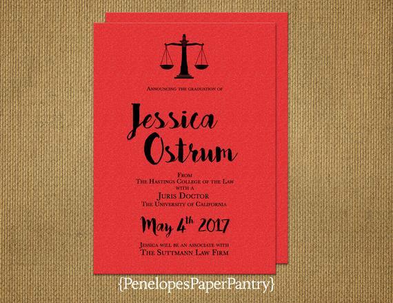 Law School Graduation Invitation Wording Inspirational Elegant Law School Graduation Invitation and