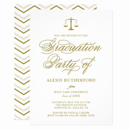 Law School Graduation Invitation Wording Lovely Judge Lawyer Retirement Law School Graduation Invitation