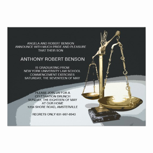 Law School Graduation Invitation Wording Luxury 1 000 Law School Graduation Invitations Law School