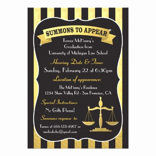 Law School Graduation Invitation Wording Luxury 123 Best Law School Graduation Invitations Images On Pinterest