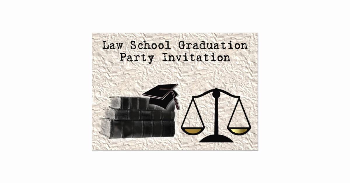 Law School Graduation Invitation Wording New Law School Graduation Party Invitation Scales Book