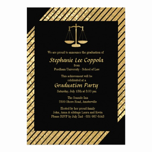Law School Graduation Invitation Wording Unique 1 000 Law School Graduation Invitations Law School