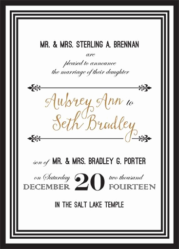 Lds Sealing Invitation Wording Beautiful 136 Best Lds Wedding Invitations Images On Pinterest