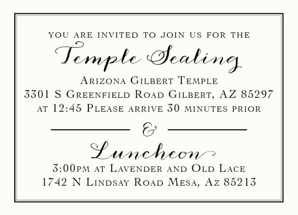 Lds Wedding Invitation Wording Best Of 136 Best Lds Wedding Invitations Images On Pinterest