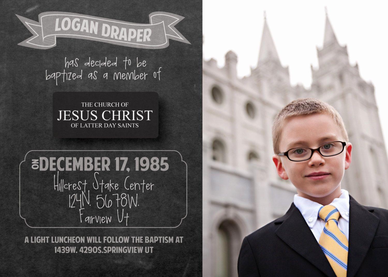 Lds Wedding Invitation Wording Elegant Best 25 Baptism Announcement Ideas On Pinterest