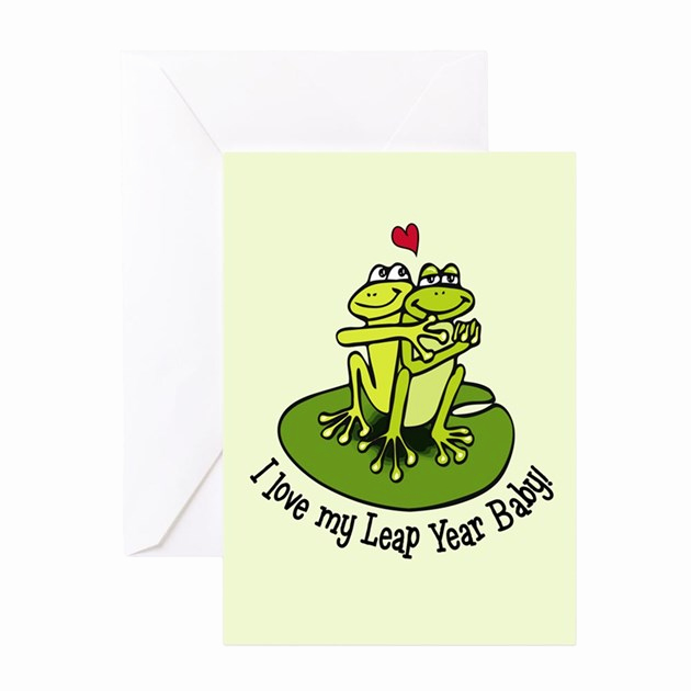 Leap Year Birthday Invitation Inspirational Leap Year Birthday Card by Shelflifeshop