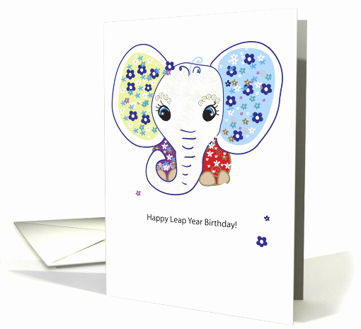 Leap Year Birthday Invitation Luxury Leap Year Birthday Nelly Card