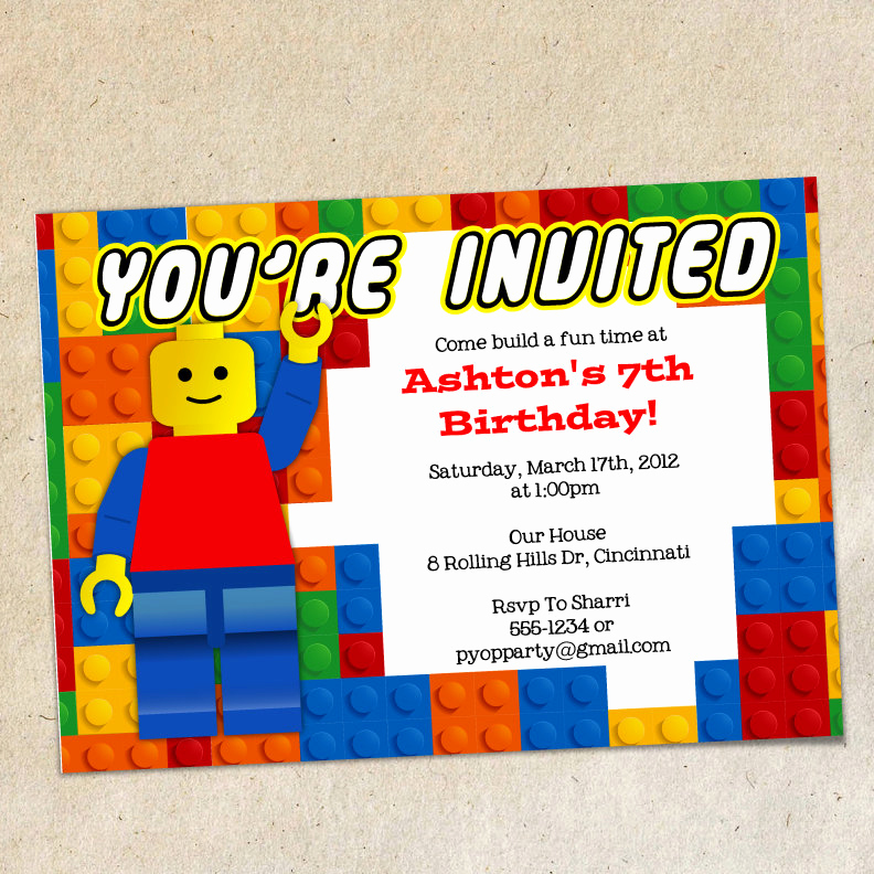Lego Birthday Invitation Template Beautiful Chandeliers & Pendant Lights