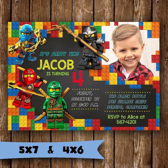 Lego Birthday Invitation Template Elegant 25 Best Ideas About Lego Birthday Invitations On