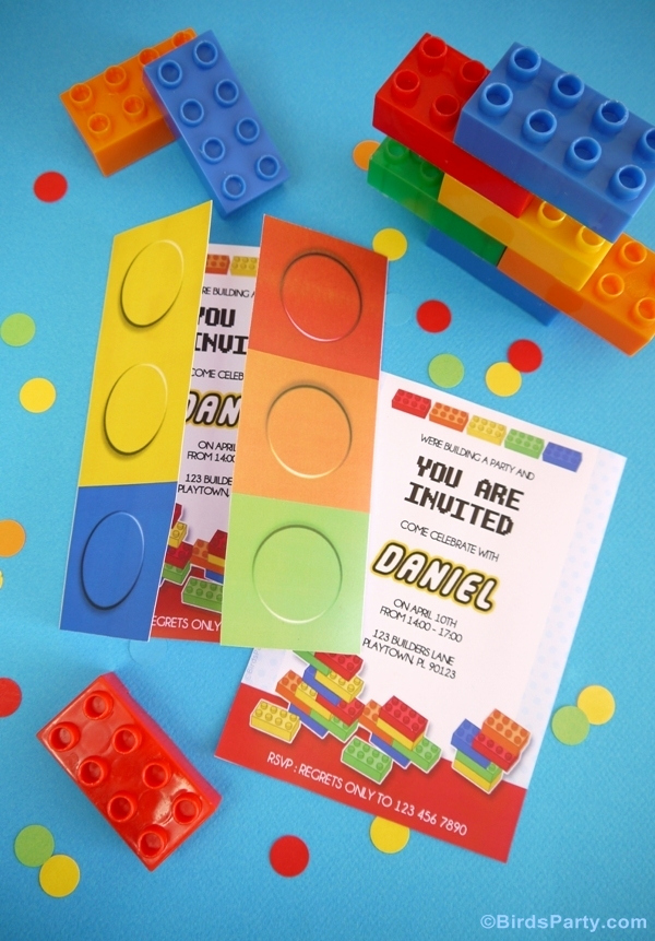 Lego Party Invitation Printable Best Of Kids Party Ideas