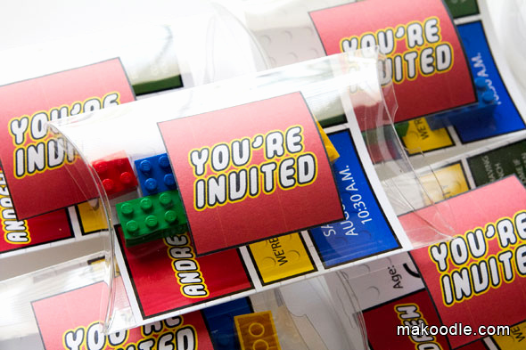 Lego Party Invitation Printable Best Of Lego Invitation Makoodle