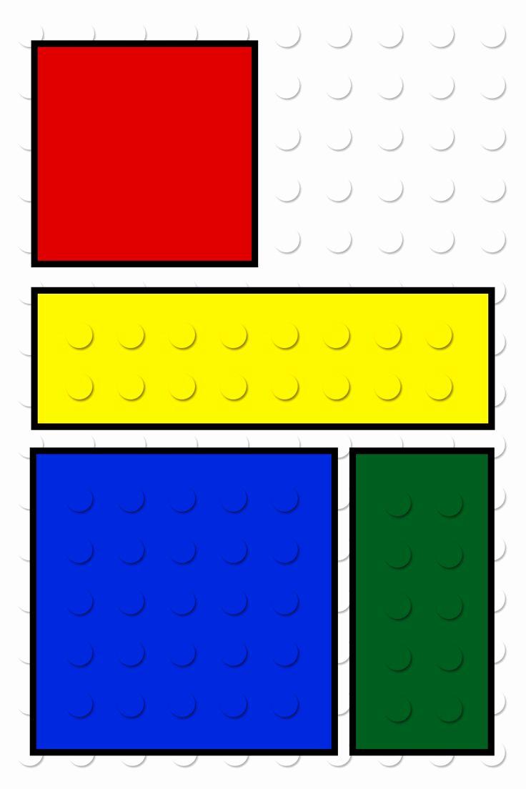 Lego Party Invitation Printable Elegant Lego Name Badges