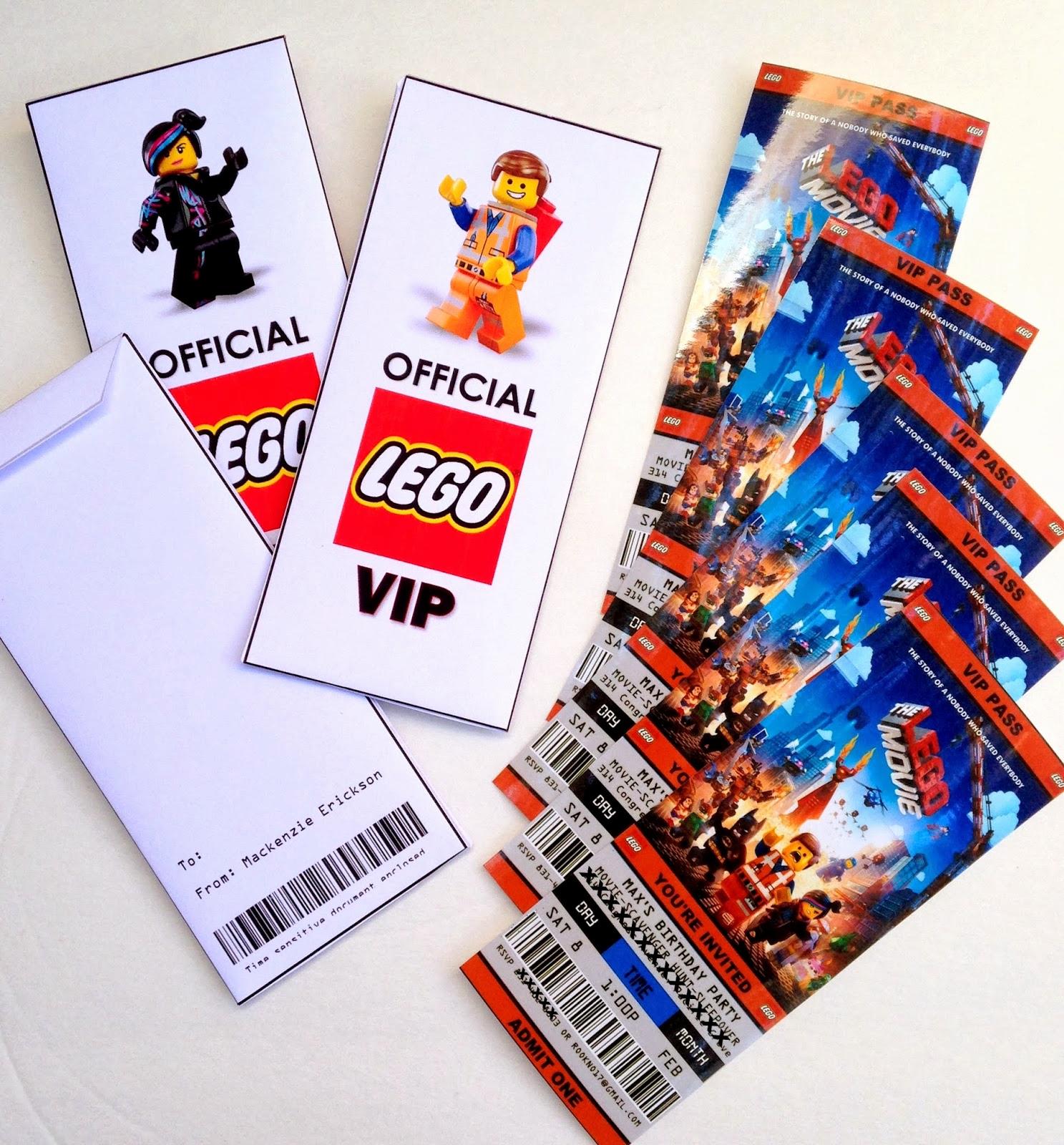 Lego Party Invitation Printable Elegant Madebyjoey A Lego Movie Birthday
