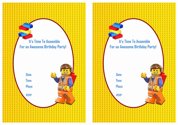 Lego Party Invitation Printable Unique 1000 Ideas About Movie Party Invitations On Pinterest