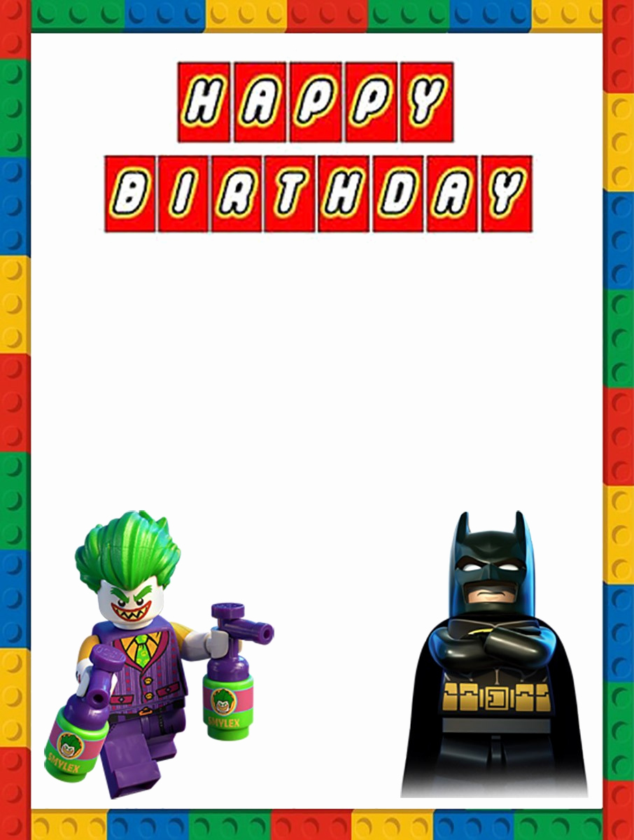 Lego Party Invitation Template Awesome Free Printable Lego Invitation Templates