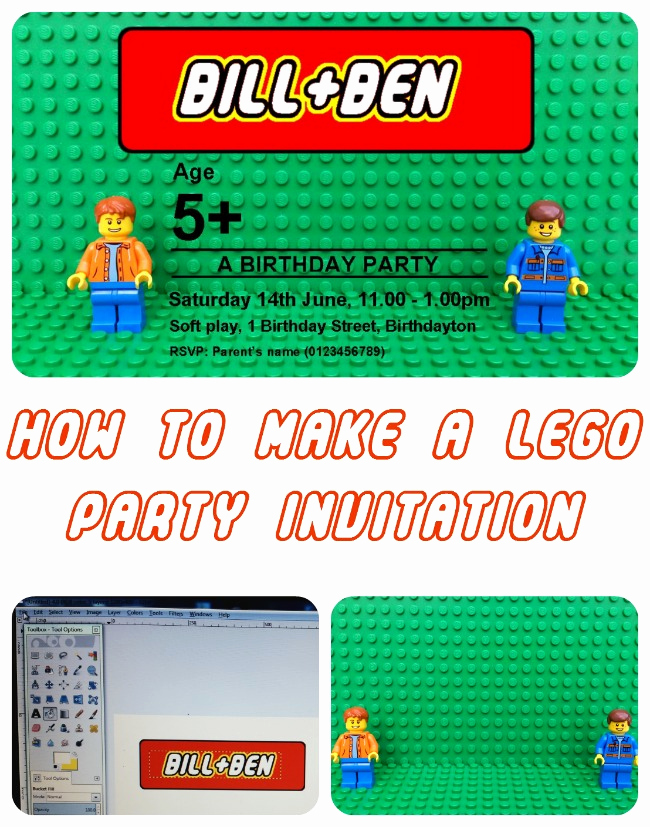 Lego Party Invitation Template Best Of Personalised Lego Birthday Party Invitation