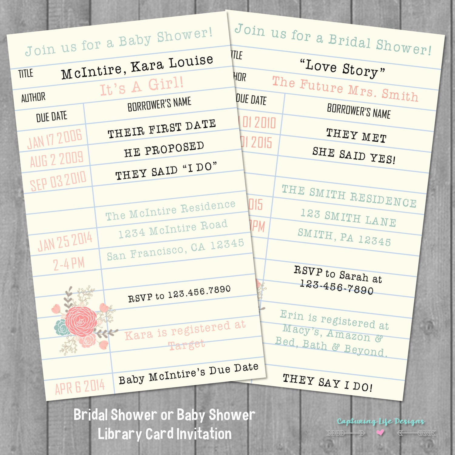 Library Card Baby Shower Invitation Best Of Library Card Invitation Library Card Baby by