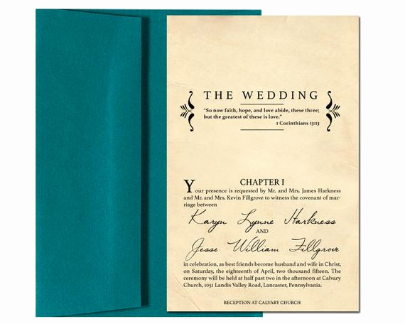 Library Card Wedding Invitation Luxury Wedding Invitation with Rsvp Card Vintage by Kaitdesignsthings